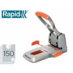 Taladrador Rapid HDC150 Supreme color metalico capacidad para 150 hojas