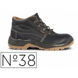 Botas de seguridad Marca Paredes Piel Negro Talla 38