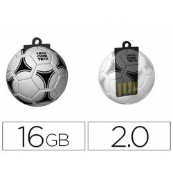 Memoria Flash USB de Technotech 16 GB Balon de Futbol gol-one