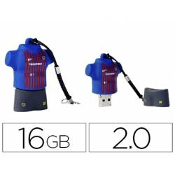 Memoria Flash USB de Technotech 16 GB Equipacion FC Barcelona