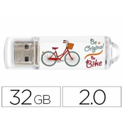 Memoria Flash USB de Techontech 32 GB Be Bike