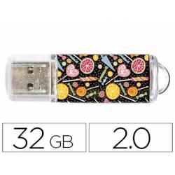 Memoria Flash USB de Techontech 32 GB 2.0 Candy Pop