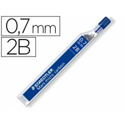 Minas Staedtler Mars Micro 0,7 mm 2B grafito Tubo con 12 unidades