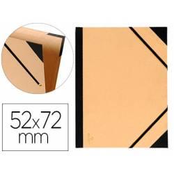 Carpeta de Dibujo Canson Tendence 52x72cm de Cartón Kraft con Gomas