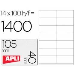 Etiquetas Adhesivas marca Apli 1275