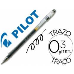 Boligrafo Pilot G-1 Negro 0,3 mm