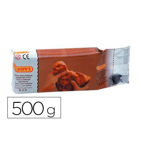 Pasta Jovi modelar 500 g terracota