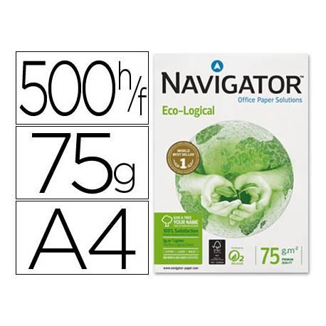Papel multifuncion A4 eco-logical Navigator 75 g/m2