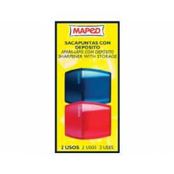 Sacapuntas marca Maped plastico