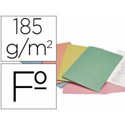 Subcarpeta Cartulina Tamaño Folio Liderpapel Colores Surtidos 185 gr