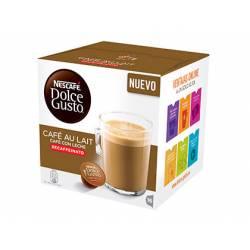 Cafe Dolce Gusto Cafe con leche Descafeinado Caja 16 cápsulas