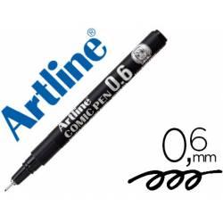 Rotulador Color Negro Artline EK-2805 Calibrado Micrométrico 0,6 mm