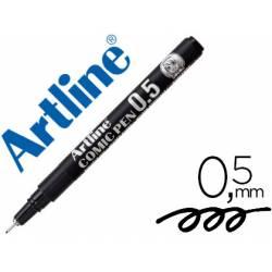 Rotulador Color Negro Artline EK-2805 Calibrado Micrométrico 0,5 mm