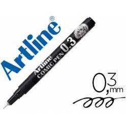 Rotulador Color Negro Artline EK-2805 Calibrado Micrométrico 0,3 mm