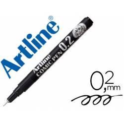 Rotulador Color Negro Artline EK-2805 Calibrado Micrométrico 0,2 mm