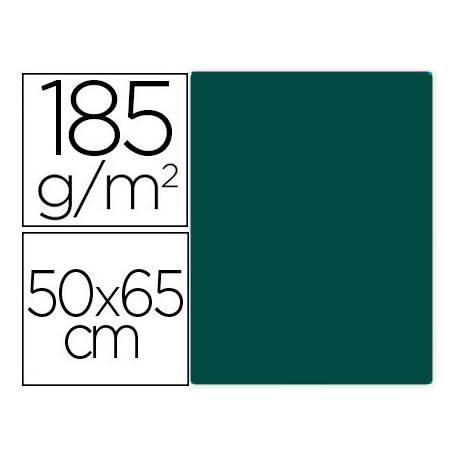 Cartulina Gvarro color Verde Safari 50x65 cm 185 gr
