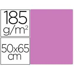 Cartulina Gvarro color Malva 50x65 cm 185 gr