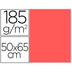 Cartulina Gvarro color Coral 50x65 cm 185 gr