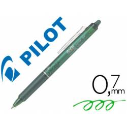 Boligrafo borrable Pilot Frixion Clicker 0,4 mm color verde lima