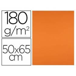 Cartulina Liderpapel Color Naranja Fuerte Paquete de 25