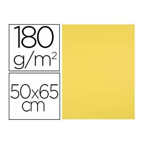 Cartulina Liderpapel Color Amarillo Limon 25 unidades