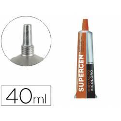 Pegamento de Contacto Supergen Incoloro de 40ml