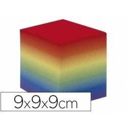 Taco de papel marca Quo Vadis encolado arco iris