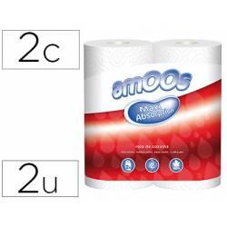 Papel cocina Amoos de 2 capas