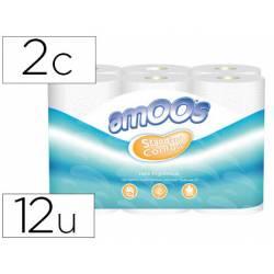 Papel higienico Amoos de 2 capas