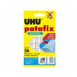 Sujetacosa marca UHU Patafix transparente