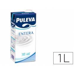 Leche entera Puleva brik de 1 litro