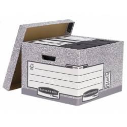 Cajon Fellowes carton reciclado capacidad 4 cajas archivo tamaño folio