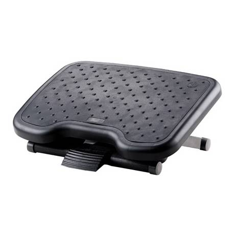 Reposapies ajustable Q-Connect premium con alfombrilla de caucho