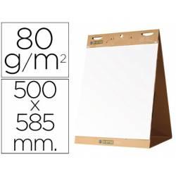Bloc congresos autoadhesivo Bi-Office 500 x 585 mm