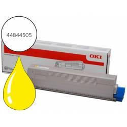 Toner OKI 44844505 Amarillo C831/C841