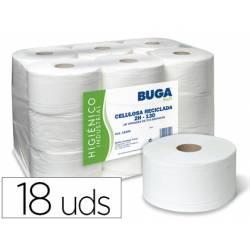 Papel higienico marca Buga 2 capas reciclado