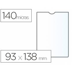 Funda portadocumento marca Esselte plastico cristal 93 x 138 mm