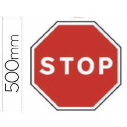 Señal vial marca Syssa stop