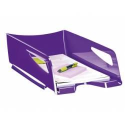 Bandeja sobremesa plastico Cep maxi color violeta