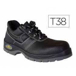 Zapatos de seguridad de Piel DeltaPlus talla 38