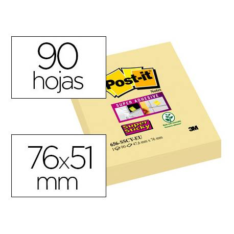 Pack de 12 blocs de post-it ® amarillos