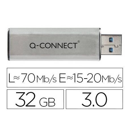Memoria usb marca Q-connect flash 32GB