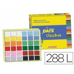 Lapices cera Dacs Classbox 288 unidades