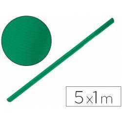 Bobina papel tipo kraft Liderpapel 5 x 1 m verde musgo