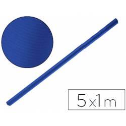 Bobina papel tipo kraft Liderpapel 5 x 1 m azul azurita