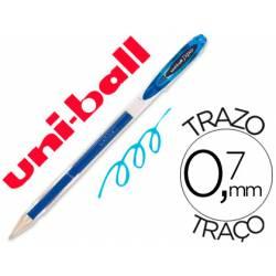 Boligrafo Uni-Ball Roller UM-120 signo color Azul claro
