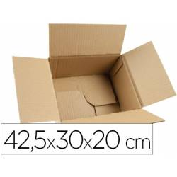 Caja para embalar marca Q-Connect 42,5x30x20Cm