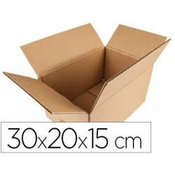 Caja para embalar marca Q-Connect 30x20x15Cm
