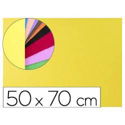 Goma Eva Liderpapel textura toalla color amarillo