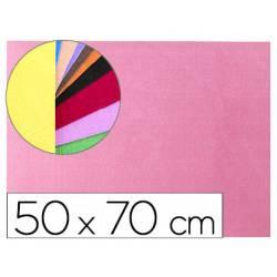 Goma Eva Liderpapel textura toalla color rosa